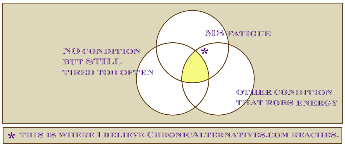 A Venn diagram of seeking wellness