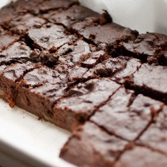 Gorgeous gluten free brownies